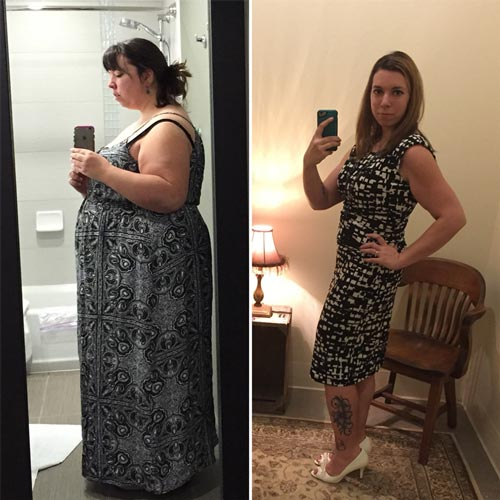Cinnamon B., who lost over 117 lbs…